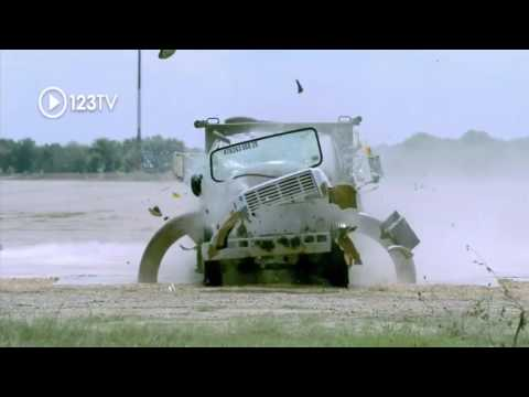 United States Department of Defense  Testing anti ram vehicle barrier