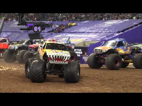 Monster Jam in Reliant Stadium - Houston, TX 2014 - Full Sho
