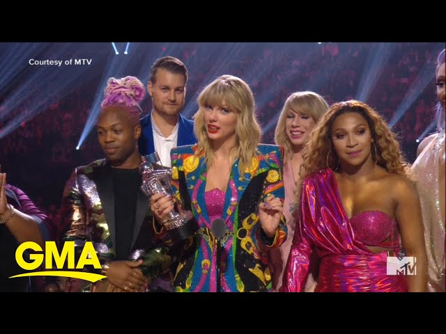 Taylor Swift gets political at the 2019 VMAs l GMA
