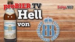 Hell von Bayreuther Brauhaus| proBIER.TV - Craft Beer Review #907 [4K]