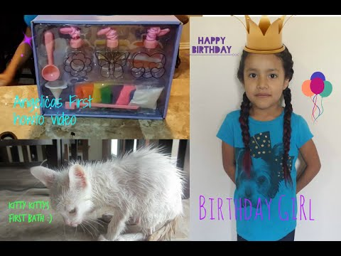 ANGELICA TURNS 6! & Records A HowTo Video #59 - Alexis Montes