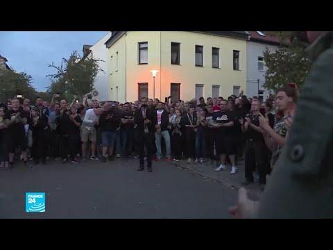 ألمانيا: تجمع لأنصار اليمين المتطرف في مدينة كوتن  - 16:54-2018 / 9 / 10