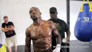 Timothy Bradley Talks Boxing, Floyd Mayweather, Hip Hop, Growing Up Poor, Vegan Diet, Pt2