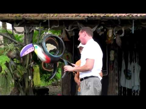 Tires Made into Beautiful Art in Costa Rica