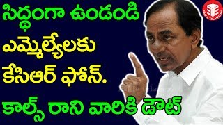 KCR Phone Call To TRS MLAs Over Pre-Elections | CM KCR TRS Political Game Plan | Eagle Telangana