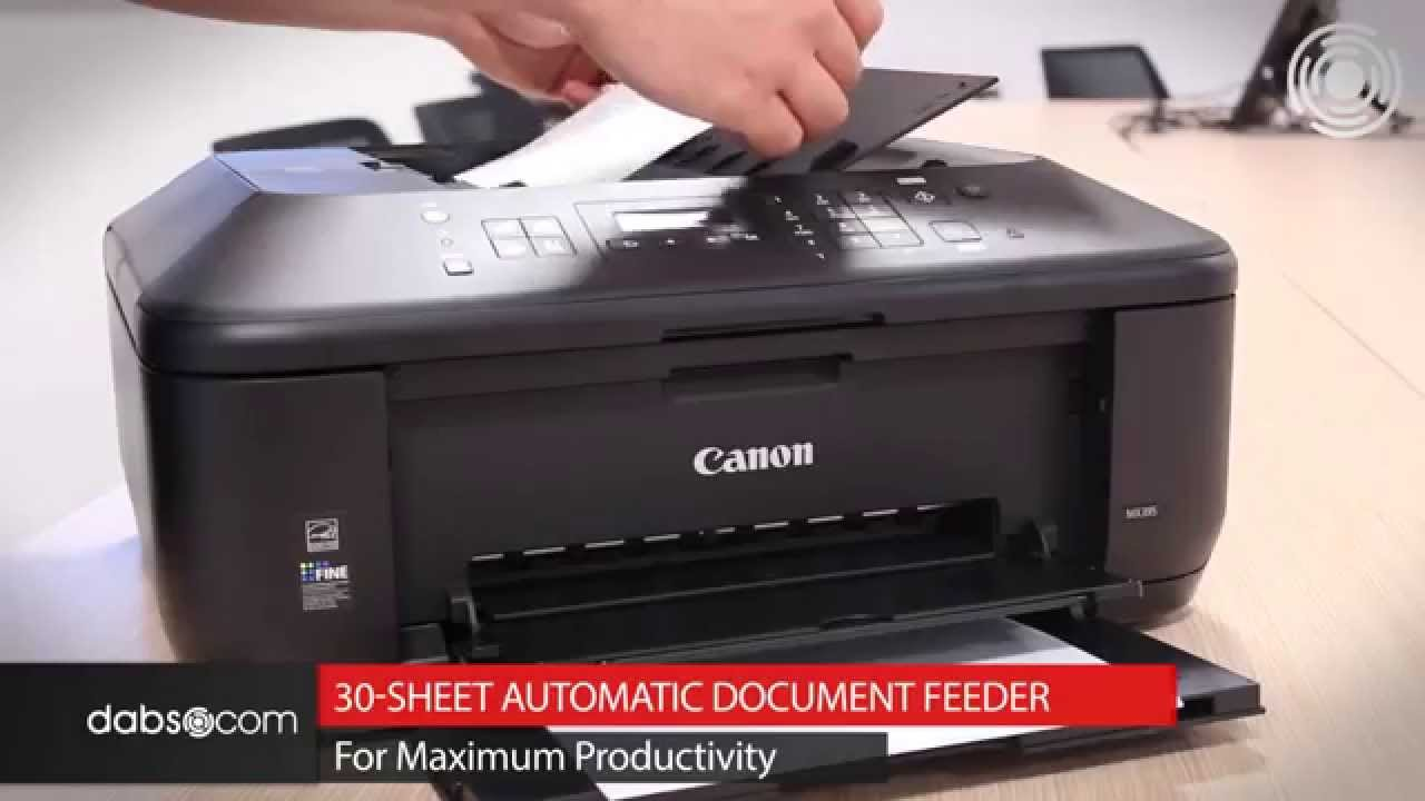 canon pixma mx395 inkjet colour printer youtube. Black Bedroom Furniture Sets. Home Design Ideas