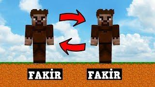 ZENGİN VS FAKİR #92 - Fakir İkizini Buldu (Minecraft)