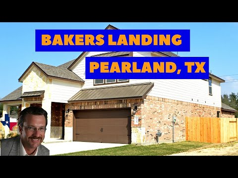 Bakers Landing New Homes In Pearland