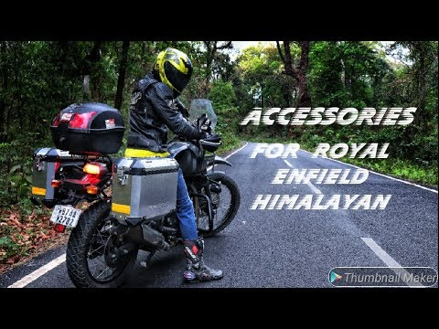 ALL NEW ACCESSORIES FOR HIMALAYAN BY ROYAL ENFIELD