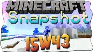 Minecraft 1.9 Snapshot 15w43 [Deutsch/German] - IGLUS UND DEBUG INFOS