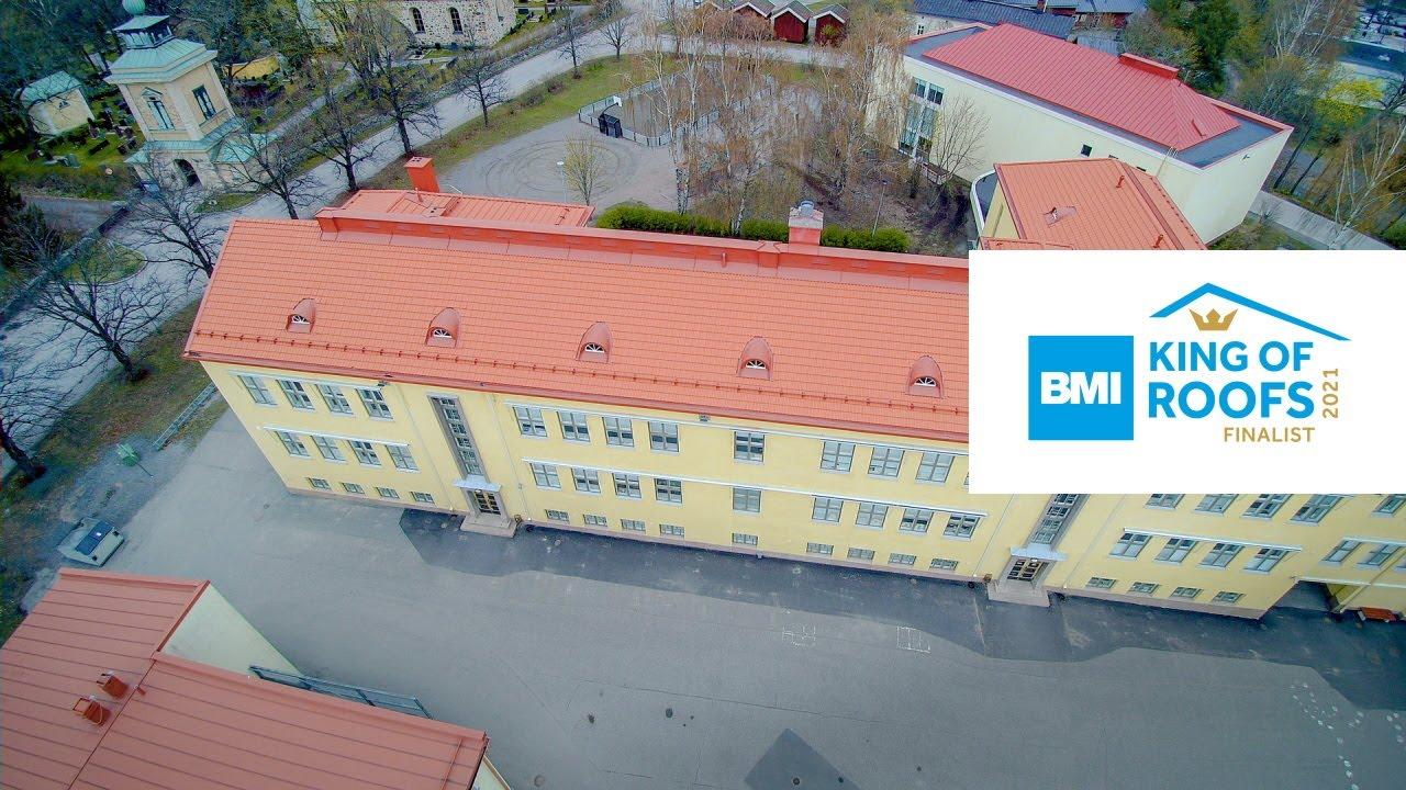 Nummenpakan koulu, Kattava Oy | King of Roofs 2021 -finalisti