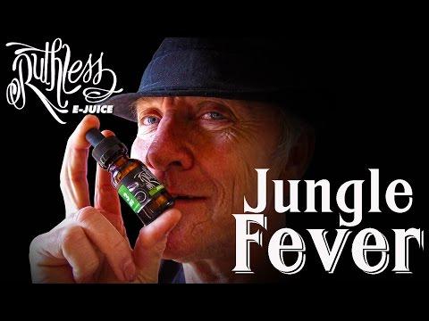 Ruthless vapor Jungle fever e-juice e-liquid review by professorvapes