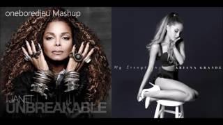 Gambar cover No Problem - Janet Jackson vs. Ariana Grande feat. Big Sean (Mashup)