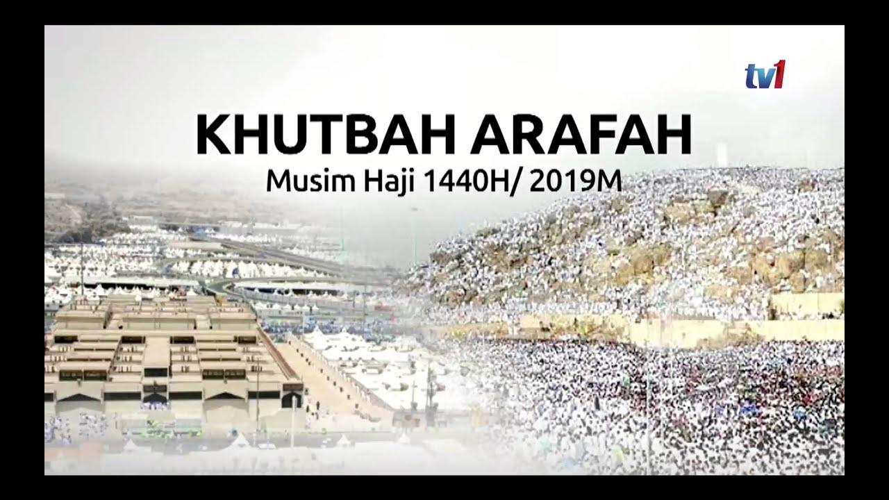 Khutbah Arafah 1440h2019m Tabung Haji