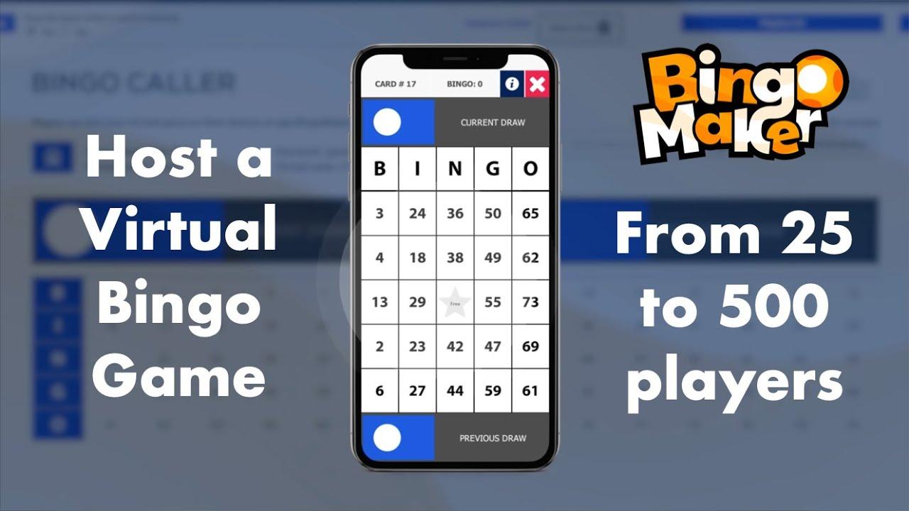 Interactive bingo for zoom meetings