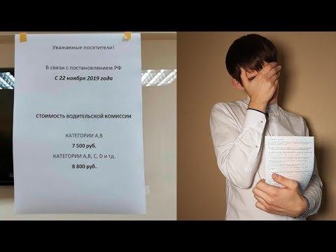 Водительская справка с 22 ноября 2019. Новые правила прохождения медкомиссии.