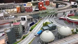 鉄道模型 エディオン広島本店 レンタルレイアウト走行 山手線編