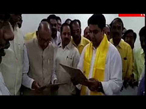 AP CM ChandraBabu Naidu son Nara Lokesh now as MLC || Amaravati News || DesiplazaTV