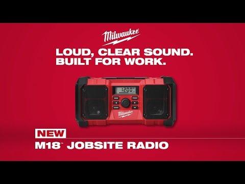 Milwaukee® M18™ Jobsite Radio