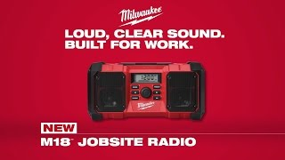 Milwaukee® M18™ Jobsite Radio