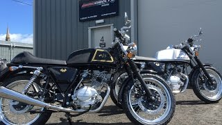 AJS Cadwell 125 - Black & Silver, Walk around, start up and ride out... Beautiful 125cc Cafe Racer