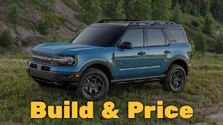 2021 Ford Bronco Sport Outer Banks - Build and Price Review: Features, Configurations, Colors, Specs