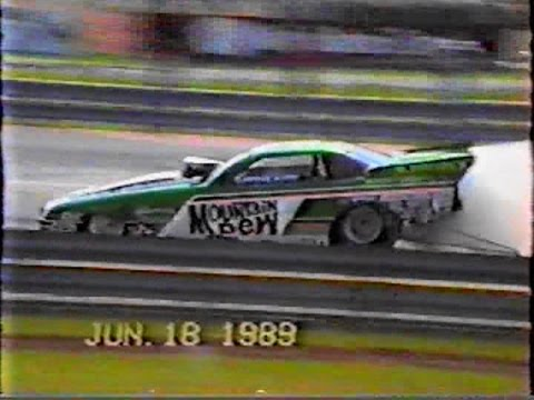 Maple Grove Raceway 1989 Funny cars, Jets, Dragsters,..........