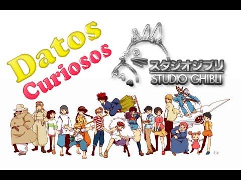 Datos Curiosos de Studios Ghibli