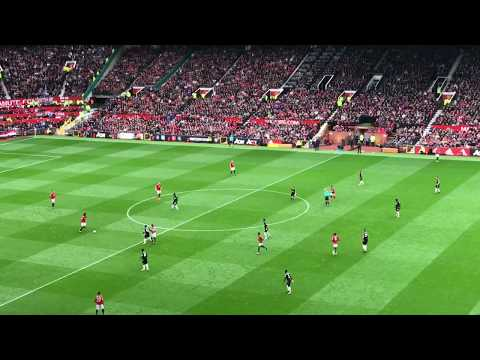MU Manchester United VS CP Crystal Palace 4-0 Old Traffod Stadium Inggris