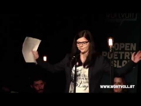 """Sabrina Öhler - """"Bulimie"""" @ Finale WORTVOLL Open Poetry Slam"""