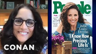 Julia Louis-Dreyfus On Her People Magazine Cover - CONAN On TBS
