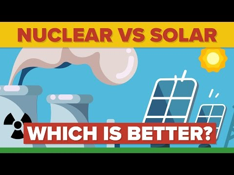 NUCLEAR ENERGY vs SOLAR ENERGY: Which Is Better? - Energy Source Comparison