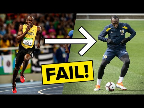 This is why Usain Bolt FAILED in football