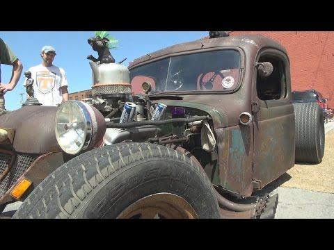 1939 Dodge Rat Rod Truck 2015 Coker Tire Cruise In