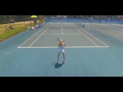 Tallulah Farrow Australian Open Junior Qualifying 2018