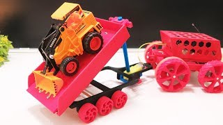 Make DIY Tow Truck Trailer from 3D Printer