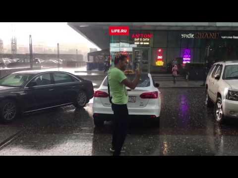 Жесть! Первая волна урагана в Москве