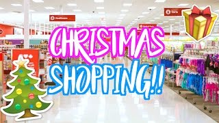 christmas shopping with ashley vlogmas day 9