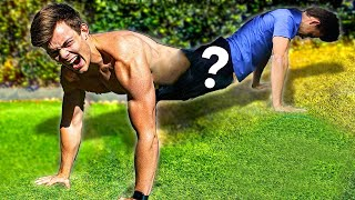 We found a push up world record online, and broke it | Most Tandem Push-ups