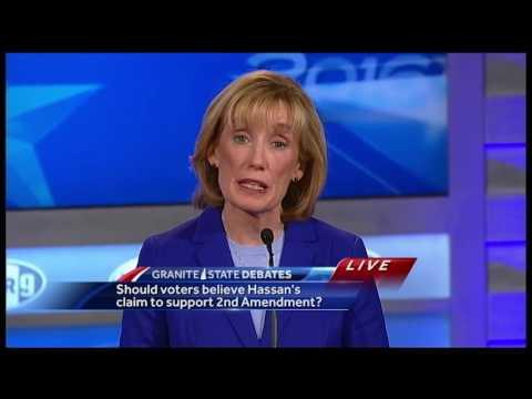 2016 Granite State Debate, U.S. Senate candidates: Gun laws