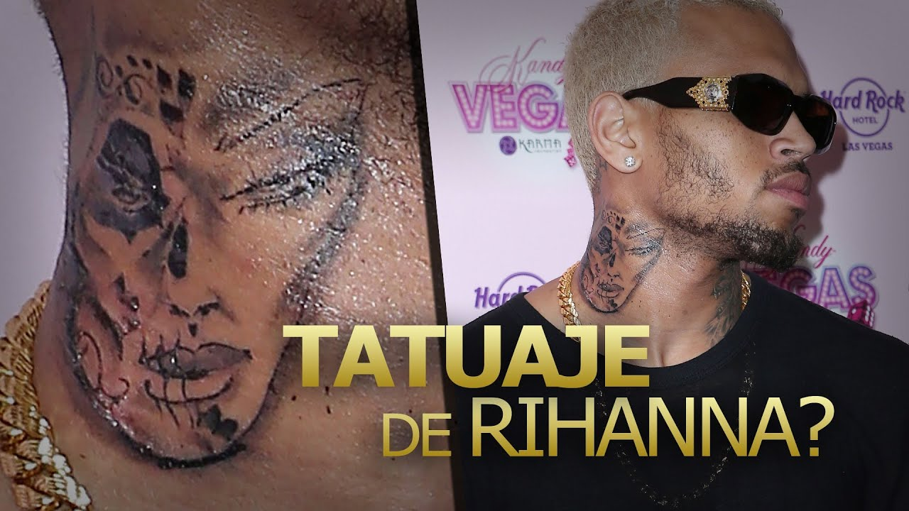 Rihanna Sangrando Chris Brown Nuevo Tatuaje Youtube