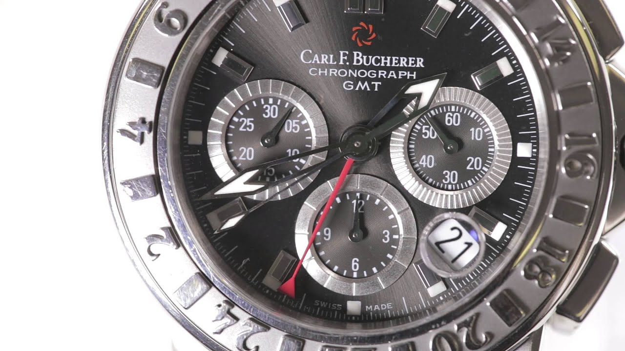 Carl F. Bucherer Chronograph GMT