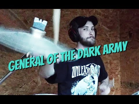 Unleash the Archers DRUM COVER - General of the Dark Army!