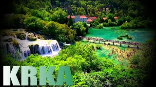 CROATIA-KRKA NATIONAL PARK IN 4K