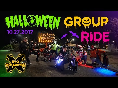 NYC Halloween Esk8 Group Ride