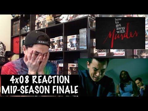 HOW TO GET AWAY WITH MURDER - 4x08 'LIVE. LIVE. LIVE.' REACTION