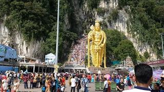 Thaipusam Festival 大宝森节 2017 @ Batu Caves, Malaysia 吉隆坡黑風洞  (Part 1) 4K UHD
