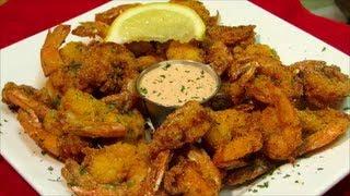 Crispy Southern Fried Shrimp - Spicy Fried Shrimp Recipe