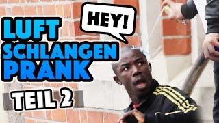 Luftschlangenspray PRANK! Teil 2
