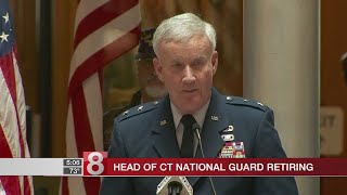 Head of Connecticut National Guard retiring